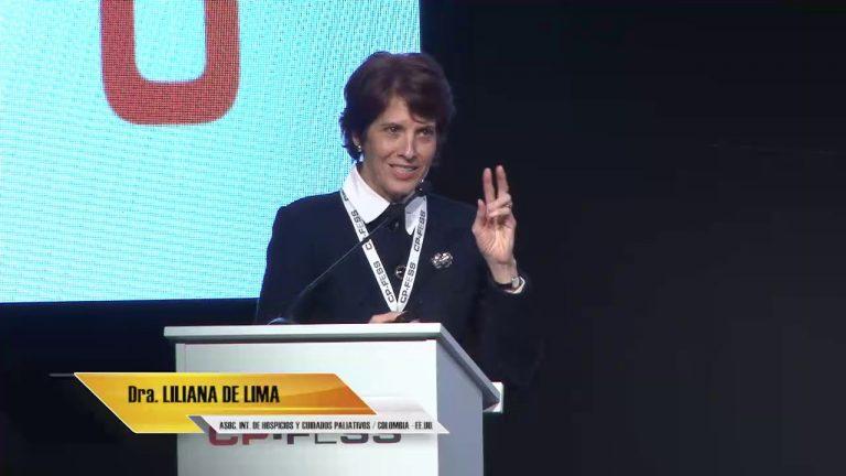 Liliana De Lima, Asociación Internacional de Hospicios y Cuidados Paliativos (Colombia / Estados Unidos)