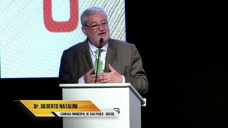 Gilberto Natalini, Cámara Municipal de Sao Paulo (Brasil)