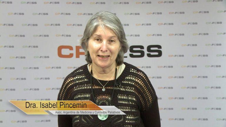 Isabel María Pincemin, Asociación Argentina de Medicina y Cuidados Paliativos (Argentina)