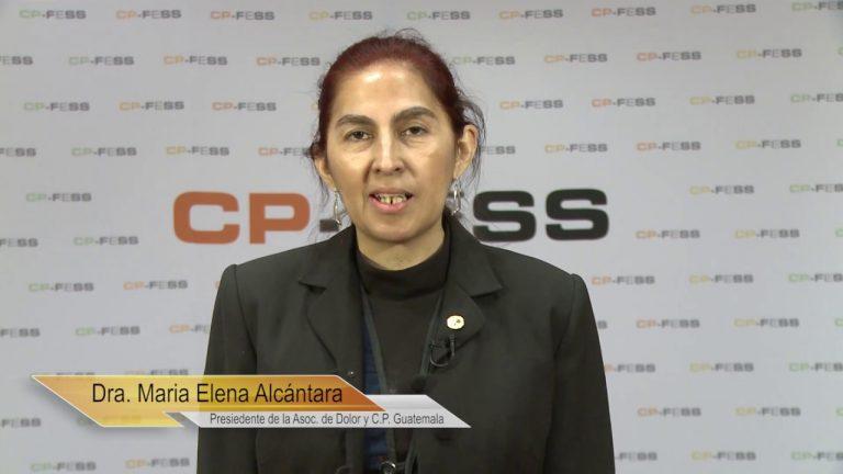 Maria Elena Alcantara Godoy, Asociación Guatemalteca de Dolor y Cuidados Paliativos (Guatemala)