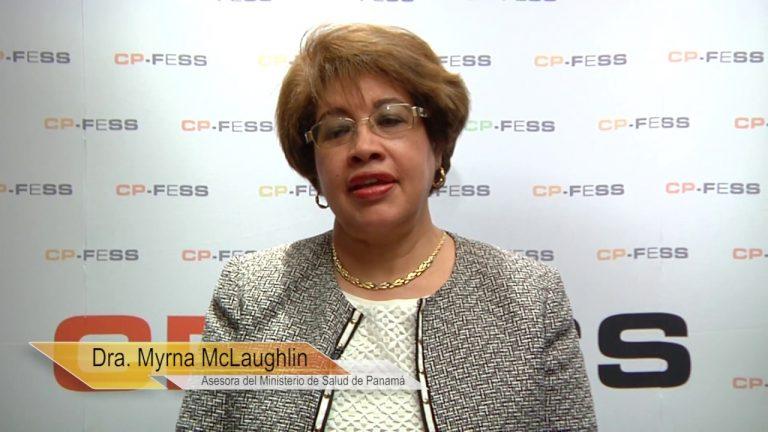 Myrna McLaughlin de Anderson, Ministerio de Salud de Panamá